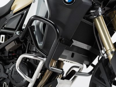 Protetor De Motor Lateral Preto BMW F 800GS