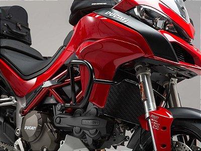 Protetor De Motor Lateral Preto Ducati Multistrada 1200 2015