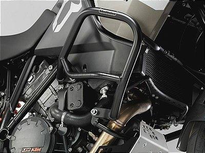 Protetor de Motor Lateral Preto KTM 1190 Adventure R SW-Motech