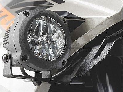 Kit Fixação de Farol Auxiliar Preto SW-Motech KTM 1190 Adventure R