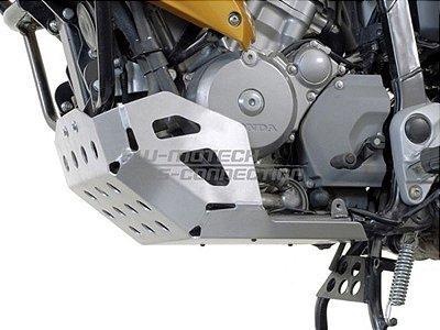 Protetor do Cárter Skid Plate Alumínio Honda XL 700V Transalp