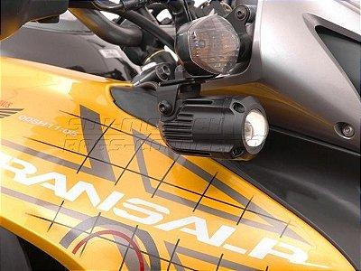Kit Fixação de Farol Auxiliar Preto SW-Motech Honda XL 700V Transalp