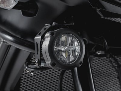 Kit de Fixação de Farol Auxiliar Preto SW-Motech Kawasaki Versys 1000 2015