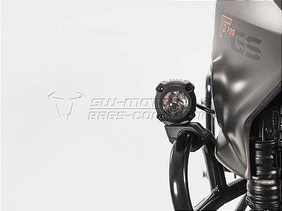 Kit de Fixação de Farol Auxiliar Preto SW-Motech Suzuki V-Strom 1000