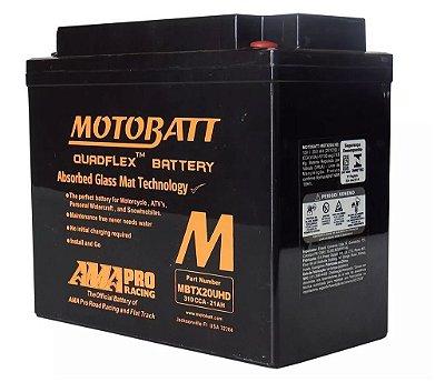 Bateria Motobatt Mbtx20uhd Ytx20lbs Harley Davidson Sportster 1200