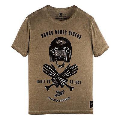 Camiseta 2mt Cross Bones Riders Corrida Moto