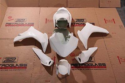 Kit de Carenagem em Fibra para Pista - CBR 600F