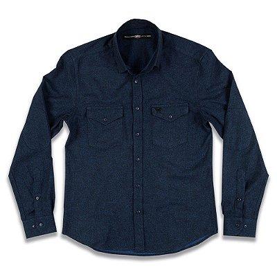 Camisa Social Slim Fit Winter 2mt Mmt Masculina