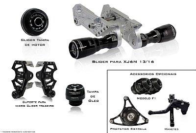 Kit de Slider Procton - Yamaha XJ6N