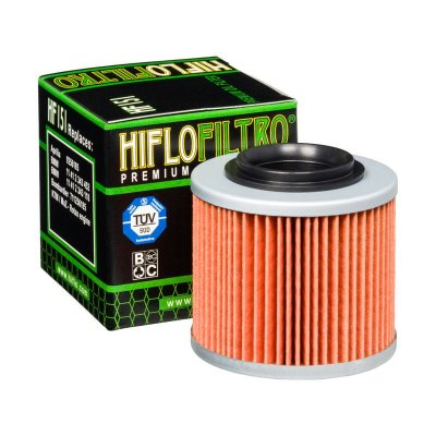 Filtro de Óleo Hiflofiltro HF-151 Bimota
