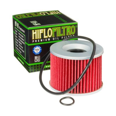 Filtro de Óleo Hiflofiltro HF-401 Yamaha Modelos 1980 - 1990
