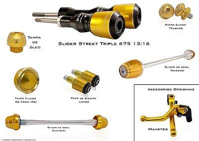 Kit de Slider Procton - Triumph Street Triple 675 2013