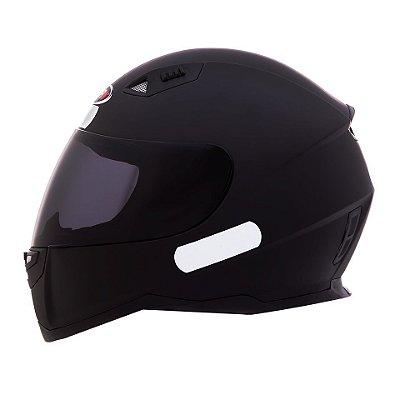 Capacete Shiro Sh881 Monocolour Black Matt - Preto Fosco