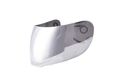 Viseira Capacete Nasa Shiro Sh-881 Espelhada Silver Prata