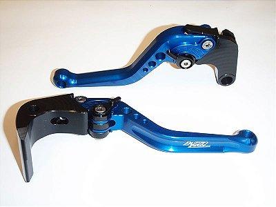 Jogo de Manetes Esportivos Pazzo Racing Honda CBR 600RR