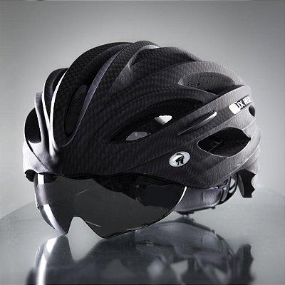 Viseira Capacete Dux Helm Bike Fumê
