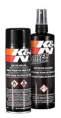 Kit Limpeza Lubrificação em Aerosol 99-5000 Filtro de Ar K&N