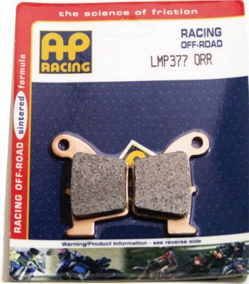 Pastilha de freio RACING AP Racing MX LMP 377 ORR