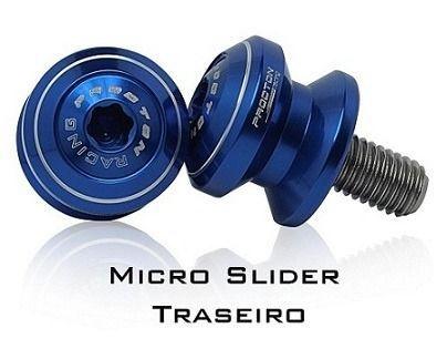 Micro Slider Traseiro de Balança Procton Rancing Suzuki GSR 750 Naked