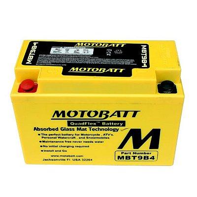 Bateria de Chumbo Motobatt Mbt9b4 Yt9bbs Ct9b4