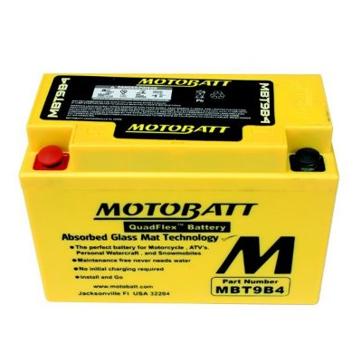 Bateria de Chumbo Motobatt Mbt9b4 Yamaha XT 660R