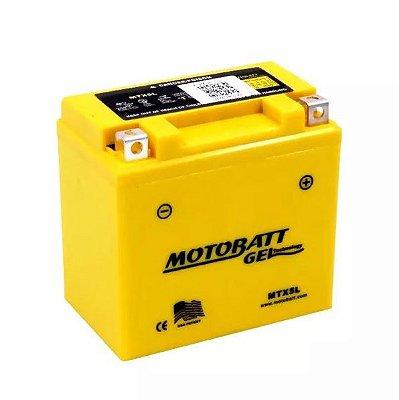 Bateria Gel Motobatt Mtx5l Ytz7s Ytx5l-bs Honda Bros Mix Es