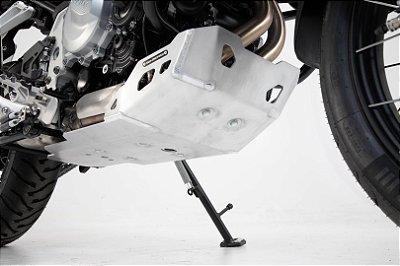 Protetor Do Carter Skid Plate em Alumínio BMW F850GS SW-Motech