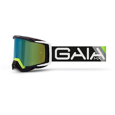 Óculos De Proteção Gaia Blacklight Pró Moto Cross