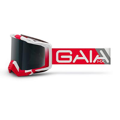 Óculos De Proteção Gaia Special Red Pró Moto Cross
