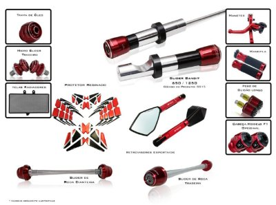 Kit De Slider Procton Racing Suzuki Bandit 1250 2008 - 2016