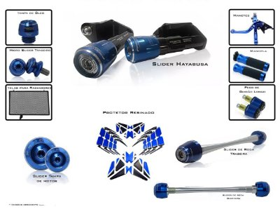 Kit De Slider Procton Racing Suzuki Hayabusa
