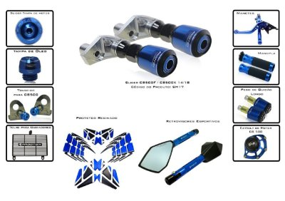 Kit Slider Procton Racing Honda CB 500F 2014 - 2018