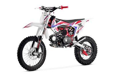 Mini Moto Cross MXF PRO SERIES 125cc 2T Aro 10/10 Elétrica e pedal