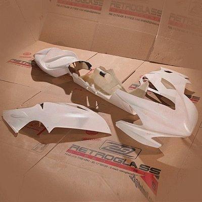 Kit de Carenagem em Fibra para Corrida - Triumph Nova Daytona 675R