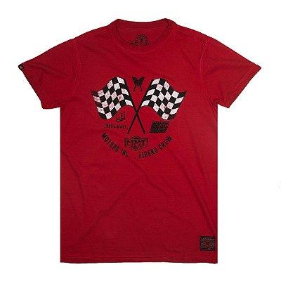 Camiseta Bandeirada Curta