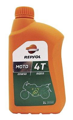 Repsol Moto Rider 20w50 4t 4 T Óleo De Motor Mineral