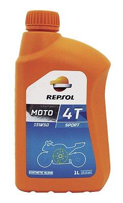 Repsol Moto Sport 15w50 4t 4 T Óleo De Motor Semi-sintético