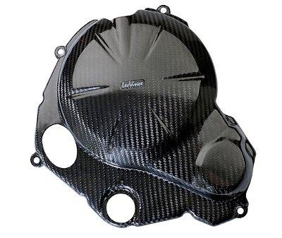 Kit de Protetor de Motor em Carbono Leovince Embreagem e Bomba D'água Kawasaki ER-6N 2012-2015