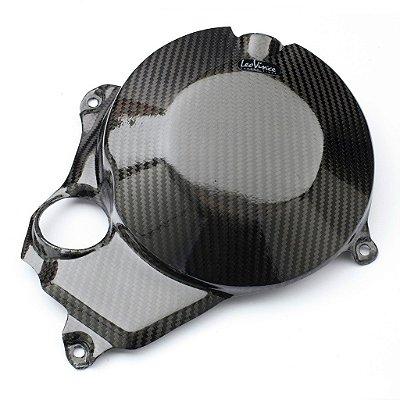 Protetor De Motor em Carbono Leovince Embreagem Kawasaki ZX-10R Ninja 2011 - 2015