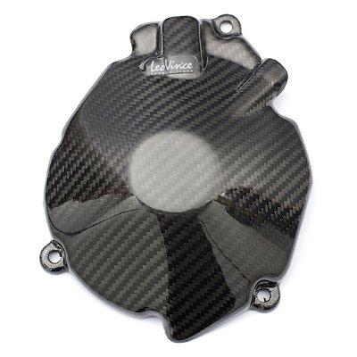 Protetor de Motor em Carbono Leovince Alternador Suzuki GSX-R 1000 2010 - 2012