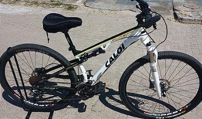 """Bicicleta Caloi Elite FS aro 29 (SEMI-NOVA) Quadro 17"""""""
