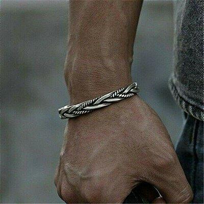 Bracelete Masculino Iron Silver - 4MEN (Prata 925)