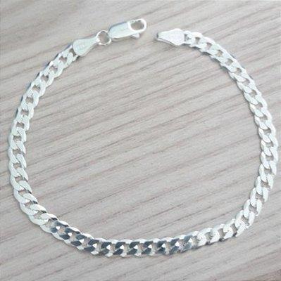 Pulseira de Prata 925 Grumet - Masculina - 4MEN