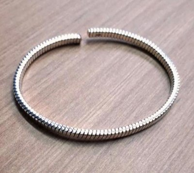 Bracelete Masculino Prata Bali Envelhecida - 4MEN