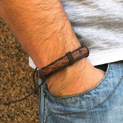 Pulseira Brown California - 4MEN