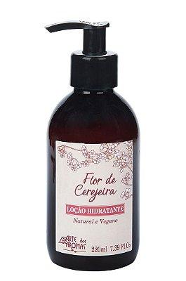 Arte dos Aromas - Loção Hidratante Flor de Cerejeira 220ml