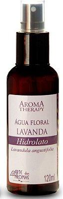 Arte dos Aromas -  Água Floral Hidrolato Lavanda 120ml
