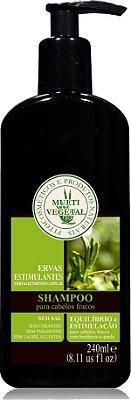 Multi Vegetal  - Shampoo de Ervas Estimulantes 240ml