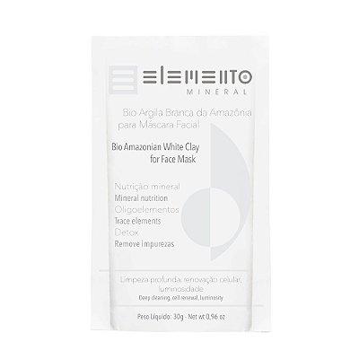Elemento Mineral  - Bio Argila Branca da Amazônia 30g