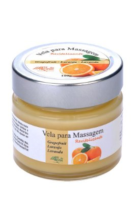 Arte dos Aromas  - Vela de Massagem Revitalizante 100g